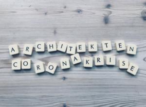 Buchstabenspiel: Architekten Coronakrise