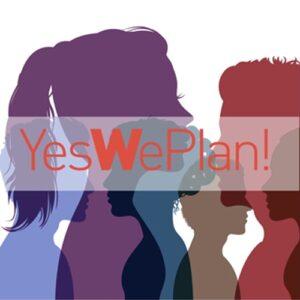 Menschen als Illustration: Yes We Plan