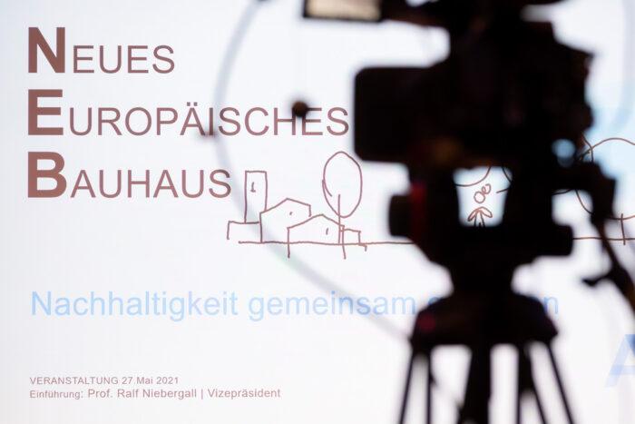 Titel Neues Europäisches Bauhaus