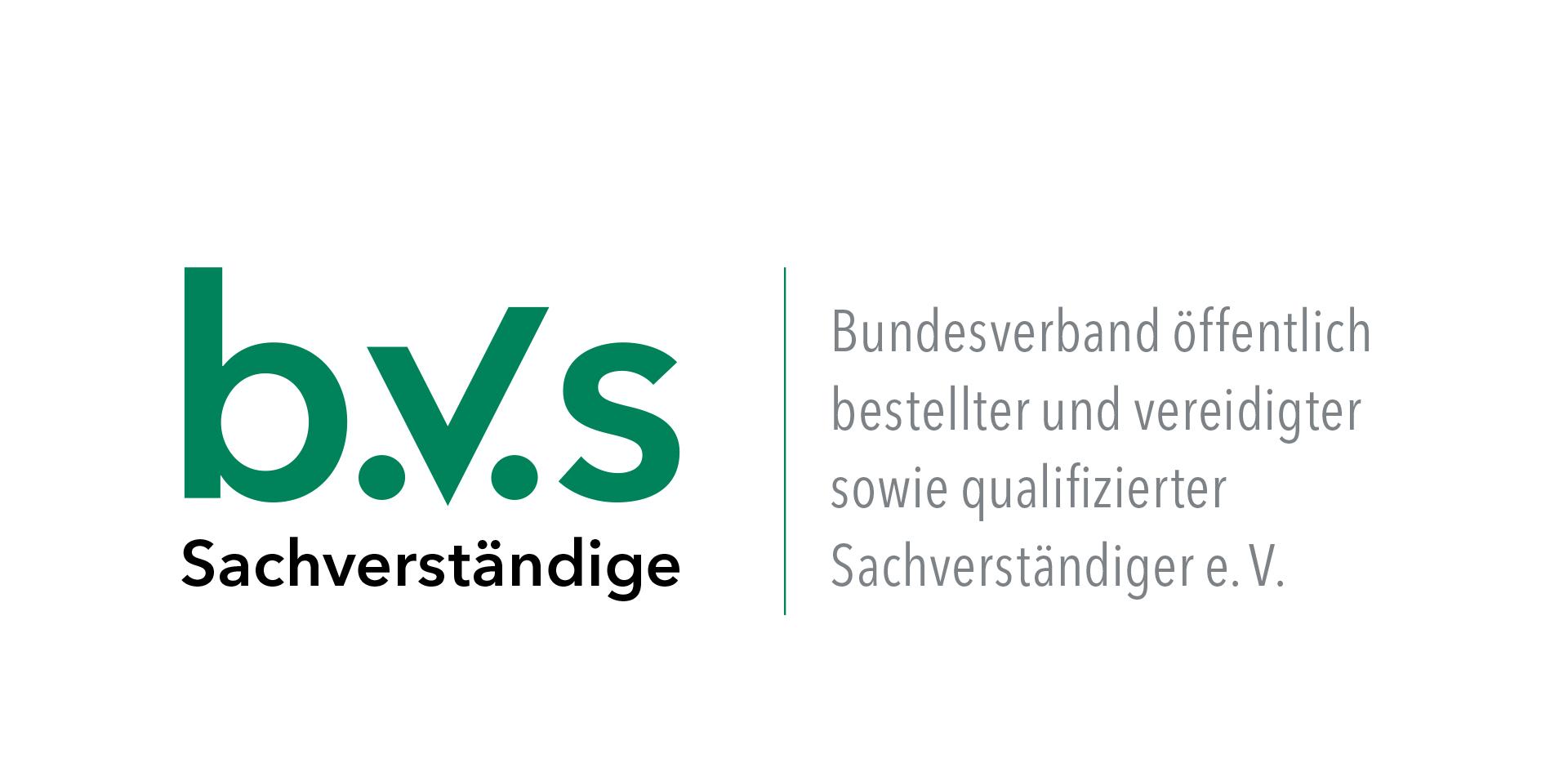 B.V.S Bundesverband öffentlich bestellter und vereidigter sowie qualifizierter Sachverständiger