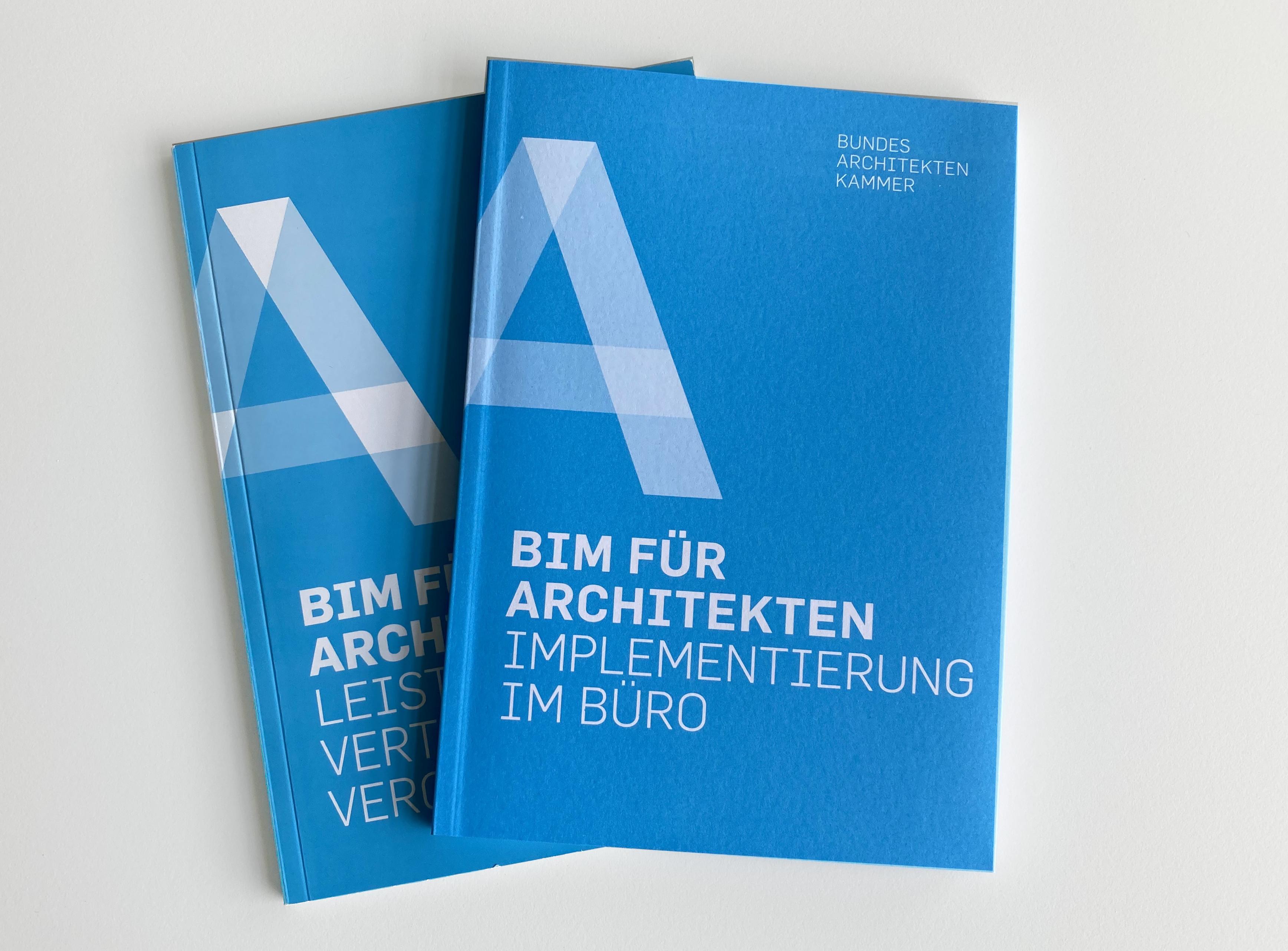 """Leitfäden """"BIM für Architekten"""""""