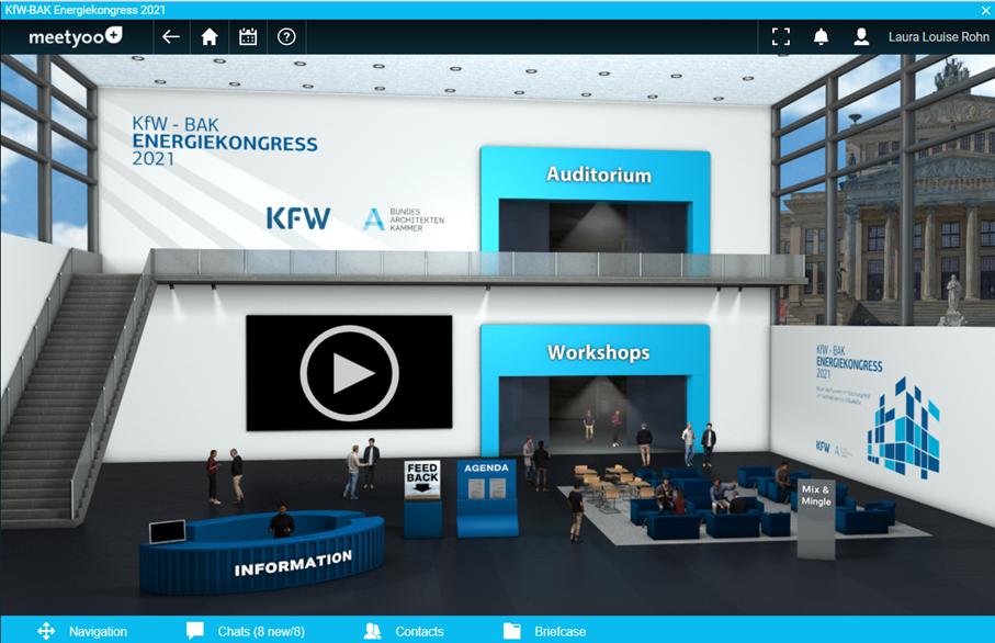 Der KfW-BAK Energiekongress 2021 | Mit über 400 Teilnehmenden ein großer Erfolg